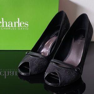 Charles by Charles David peep toe heels
